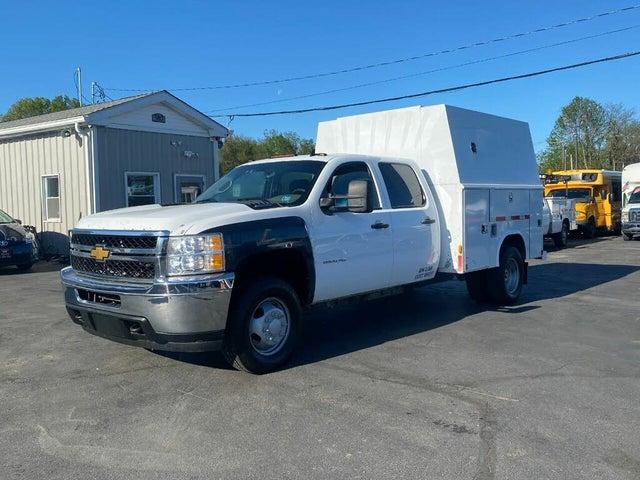 2011 Chevrolet Silverado 3500HD Work Truck Crew Cab LB DRW 4WD