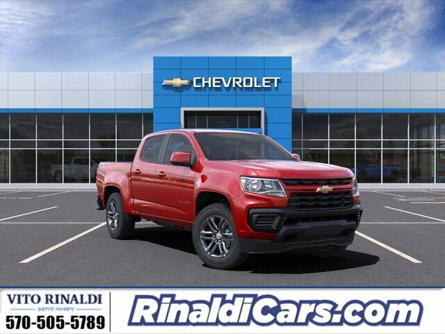 2021 Chevrolet Colorado Work Truck Crew Cab LB 4WD