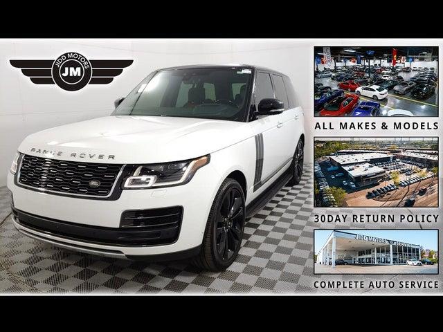 2018 Land Rover Range Rover V8 SVAutobiography Dynamic 4WD