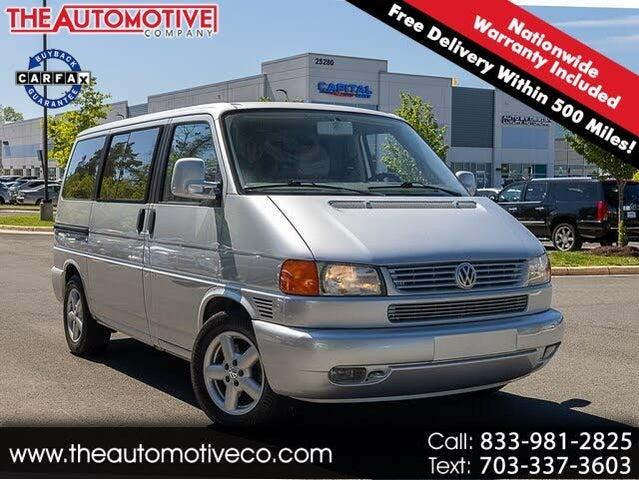 2002 Volkswagen EuroVan 3 Dr MV Passenger Van
