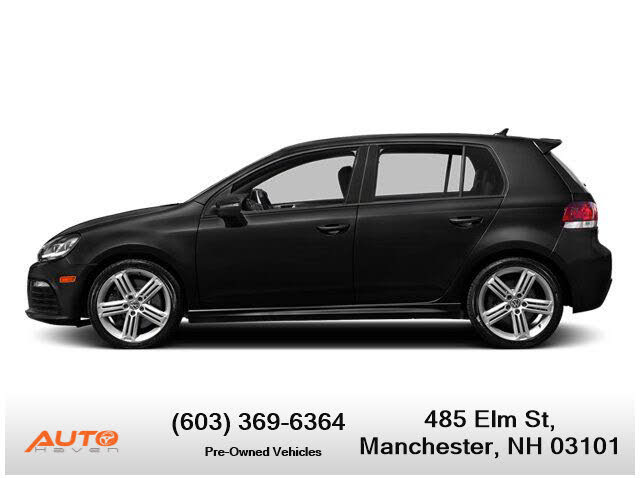 2013 Volkswagen Golf R 4-Door AWD