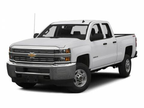2015 Chevrolet Silverado 2500HD Work Truck Double Cab LB RWD