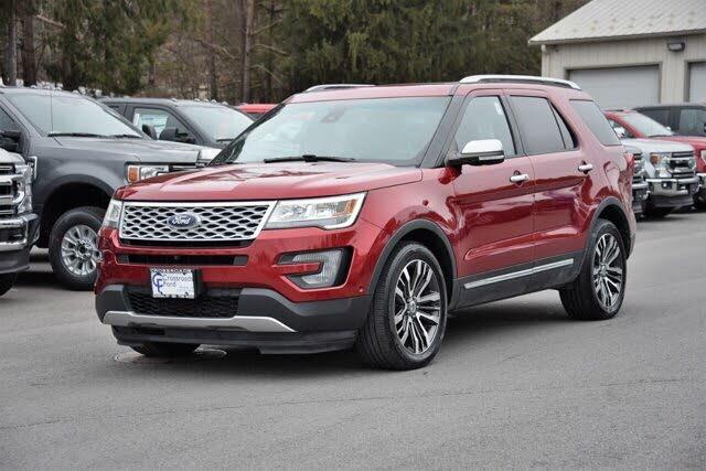 2016 Ford Explorer Platinum 4WD