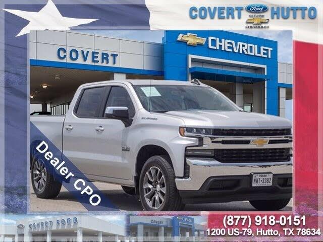 2019 Chevrolet Silverado 1500 LT Crew Cab RWD