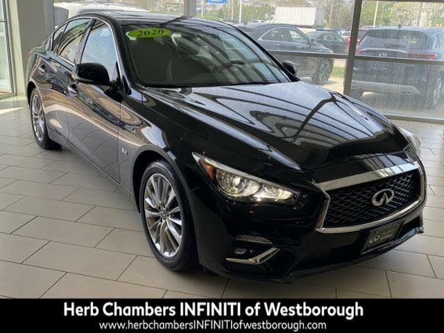 2020 INFINITI Q50 3.0t Luxe AWD