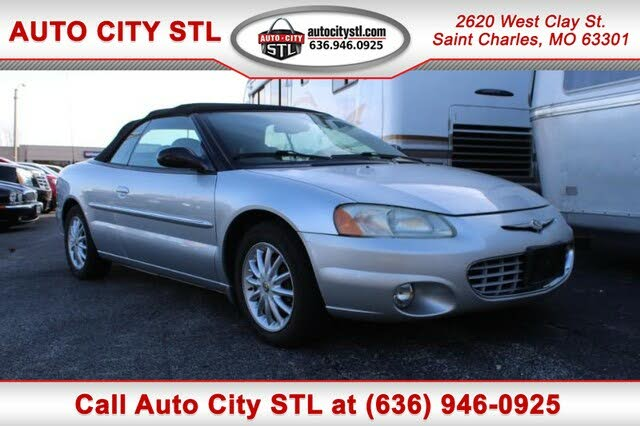 2002 Chrysler Sebring LXi Convertible FWD