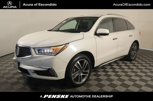 2018 Acura MDX FWD with Advance and Entertainment Package