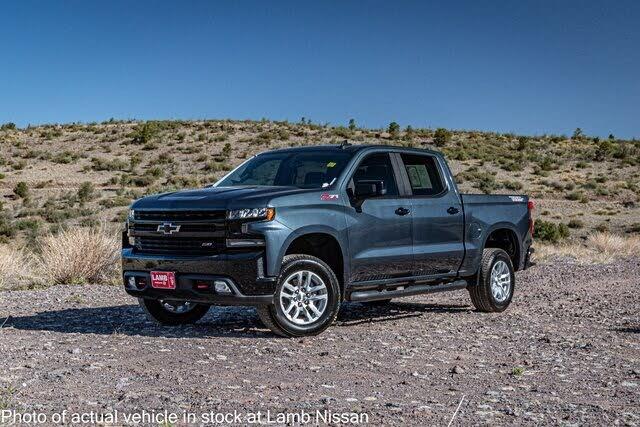 2019 Chevrolet Silverado 1500 LT Trail Boss Crew Cab 4WD