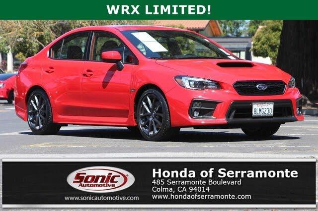 2019 Subaru WRX Limited AWD