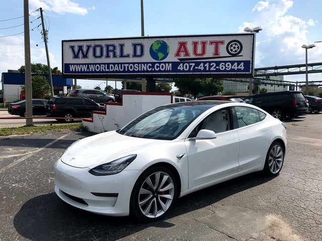 2019 Tesla Model 3 Performance AWD