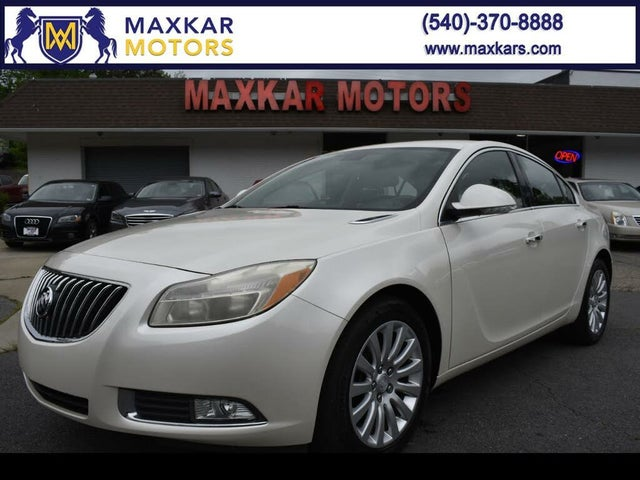 2012 Buick Regal Premium I Turbo Sedan FWD
