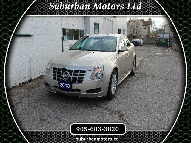 2013 Cadillac CTS 3.0L AWD