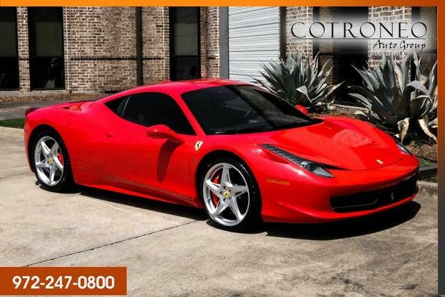 2014 Ferrari 458 Italia Coupe RWD
