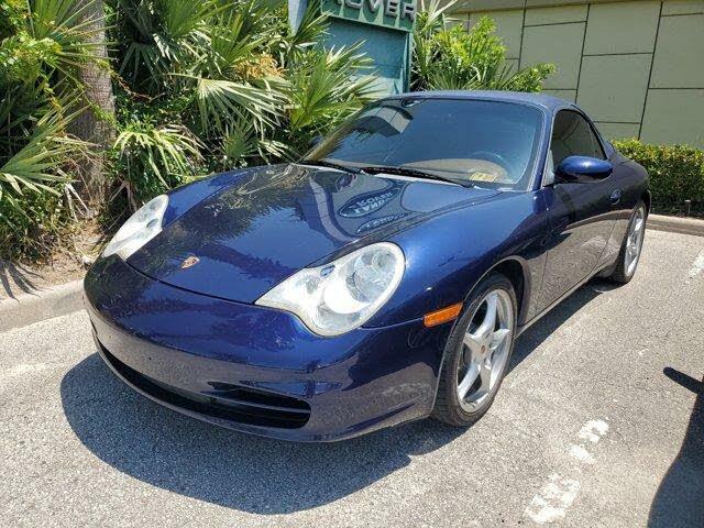 2002 Porsche 911 Carrera 4 Convertible AWD