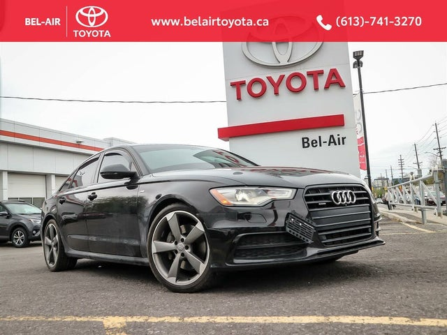 2015 Audi A6 2.0T quattro Technik Sedan AWD