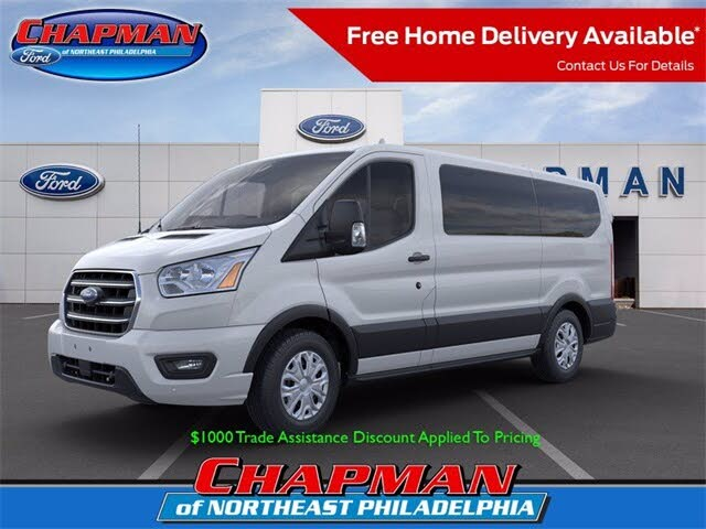 2020 Ford Transit Passenger 150 XLT Low Roof RWD with Sliding Passenger-Side Door