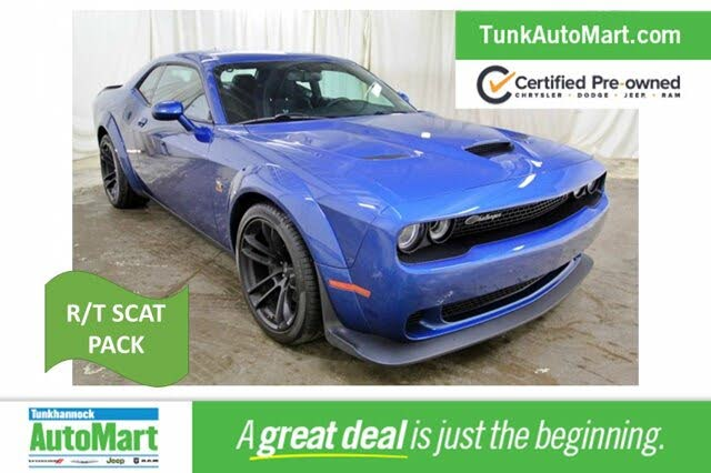 2020 Dodge Challenger R/T Scat Pack Widebody RWD
