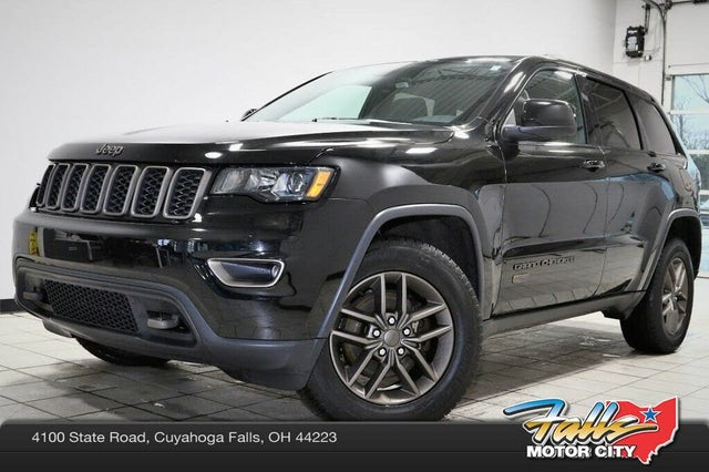 2017 Jeep Grand Cherokee 75th Anniversary Edition 4WD