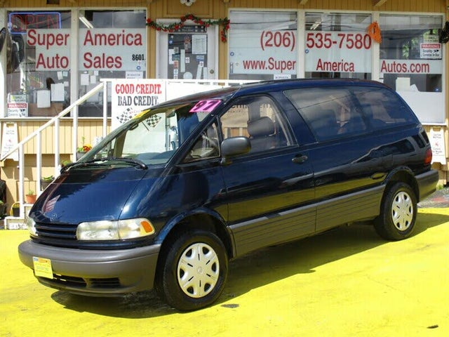 1997 Toyota Previa 3 Dr LE All-Trac Supercharged AWD Passenger Van