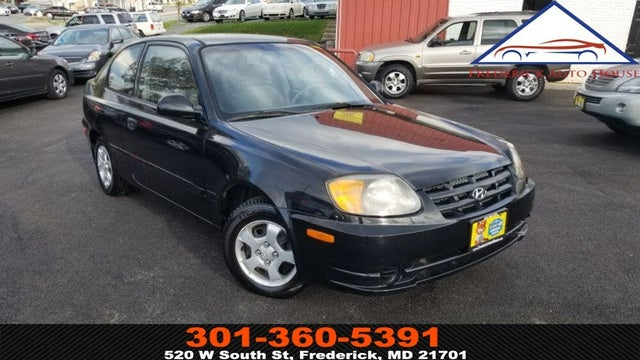 2003 Hyundai Accent GL 2-Door Hatchback FWD