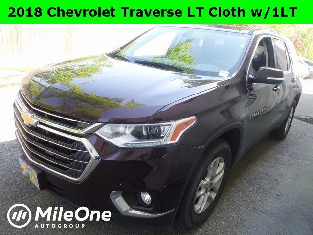 2018 Chevrolet Traverse LT Cloth FWD