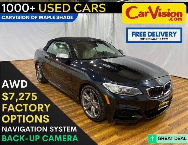 2016 BMW 2 Series M235i xDrive Convertible AWD