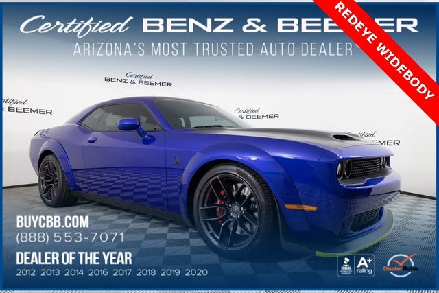 2019 Dodge Challenger SRT Hellcat Redeye Widebody RWD