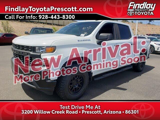2020 Chevrolet Silverado 1500 Work Truck Crew Cab RWD