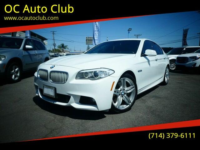 2012 BMW 5 Series 550i Sedan RWD
