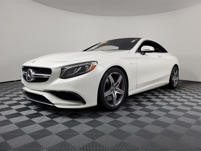 2015 Mercedes-Benz S-Class Coupe S 63 AMG 4MATIC