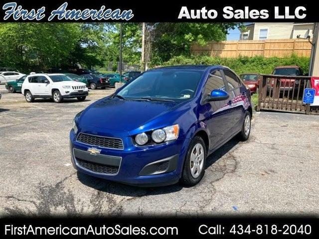 2013 Chevrolet Sonic LS Sedan FWD