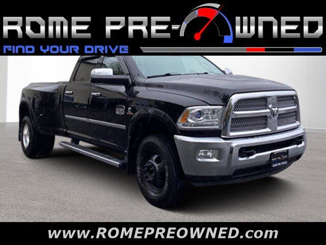 2014 RAM 3500 Laramie Longhorn Crew Cab LB DRW 4WD