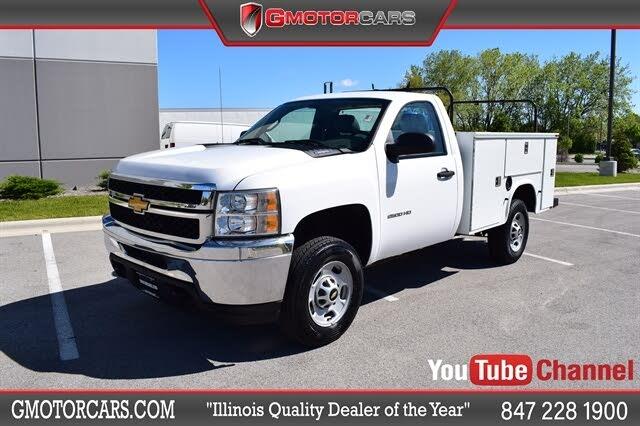 2013 Chevrolet Silverado 2500HD Work Truck LB RWD