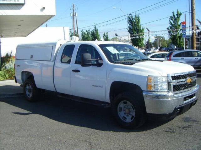 2012 Chevrolet Silverado 2500HD Work Truck Extended Cab 4WD