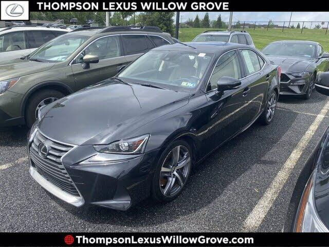 2017 Lexus IS 300 Sedan AWD