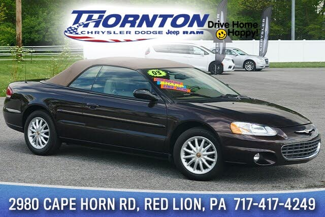 2003 Chrysler Sebring LXi Convertible FWD