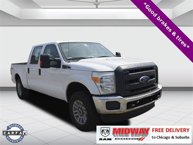 2015 Ford F-250 Super Duty XL Crew Cab LB 4WD