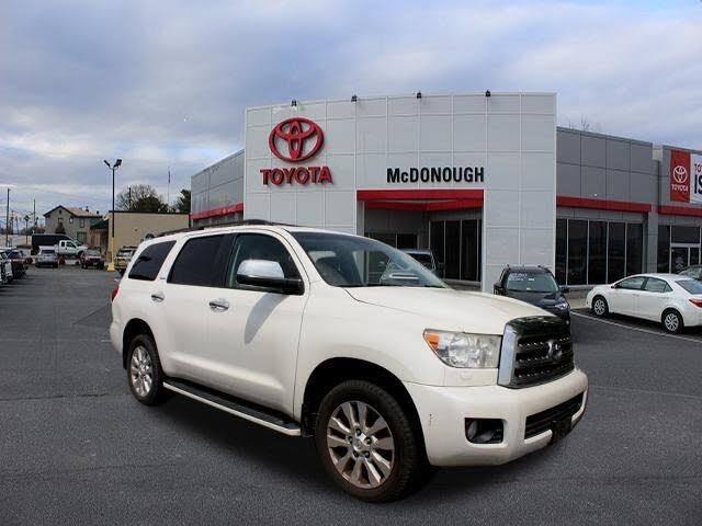 2011 Toyota Sequoia Platinum 4WD FFV