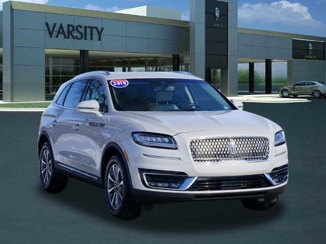 2019 Lincoln Nautilus Select AWD