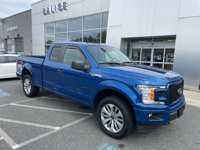 2018 Ford F-150 XL SuperCab 4WD