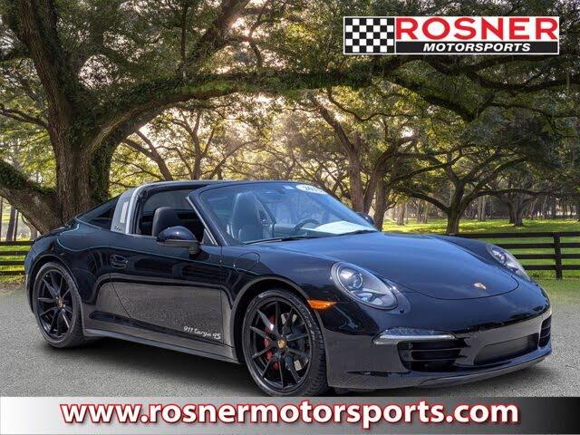 2015 Porsche 911 Targa 4S Convertible RWD