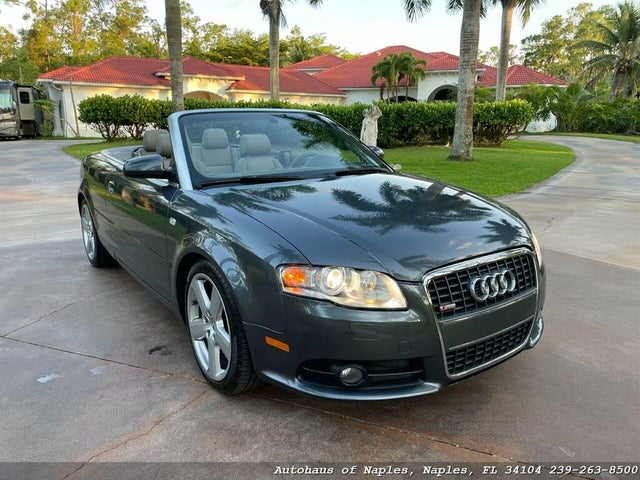 2009 Audi A4 2.0T Cabriolet FWD