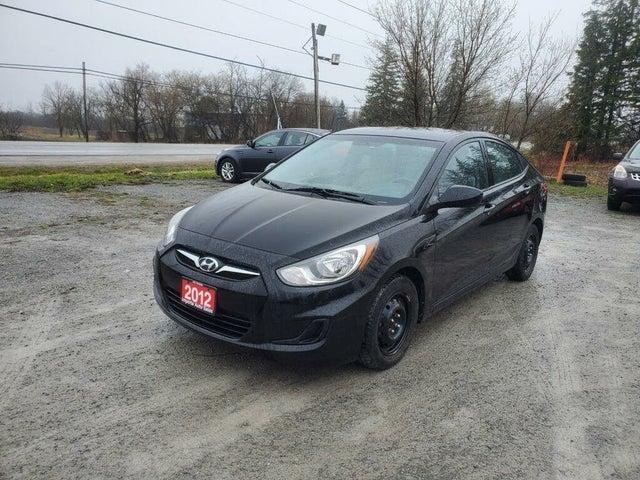 2012 Hyundai Accent L Sedan FWD