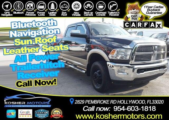 2011 RAM 3500 Laramie Crew Cab 8 ft. DRW 4WD