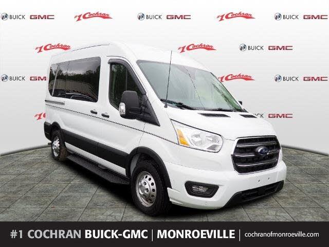 2020 Ford Transit Passenger 150 XLT AWD with Sliding Passenger-Side Door