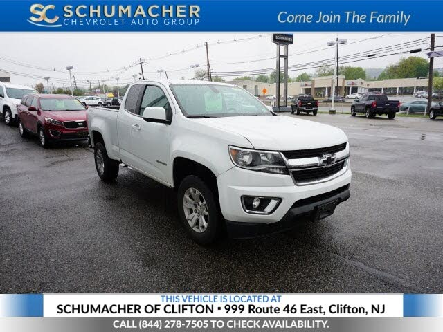 2018 Chevrolet Colorado LT Extended Cab LB 4WD