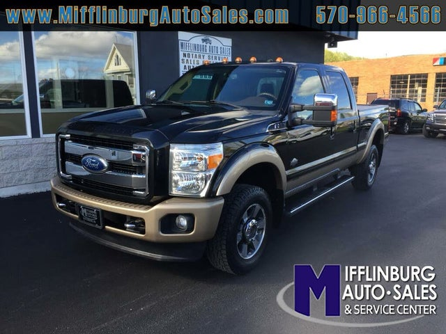 2011 Ford F-350 Super Duty King Ranch Crew Cab 4WD