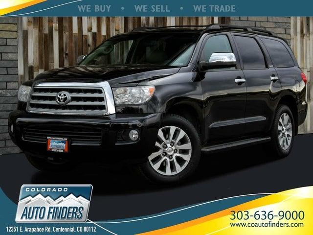 2011 Toyota Sequoia Limited 4WD FFV