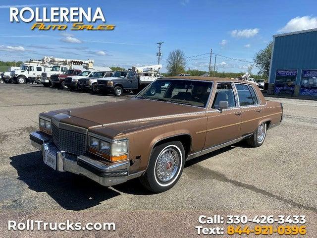 1987 Cadillac Brougham RWD