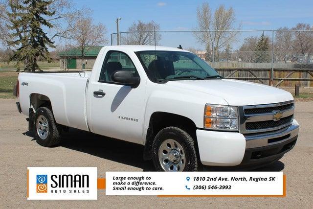 2011 Chevrolet Silverado 1500 Work Truck LB 4WD